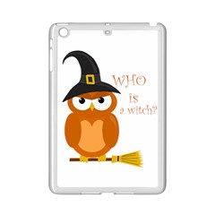 Halloween Orange Witch Owl Ipad Mini 2 Enamel Coated Cases
