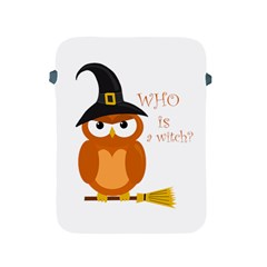 Halloween Orange Witch Owl Apple Ipad 2/3/4 Protective Soft Cases