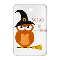 Halloween Orange Witch Owl Samsung Galaxy Note 8 0 N5100 Hardshell Case