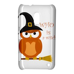Halloween Orange Witch Owl Nokia Lumia 620