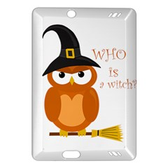 Halloween Orange Witch Owl Amazon Kindle Fire Hd (2013) Hardshell Case