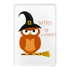 Halloween Orange Witch Owl Samsung Galaxy Tab Pro 12 2 Hardshell Case