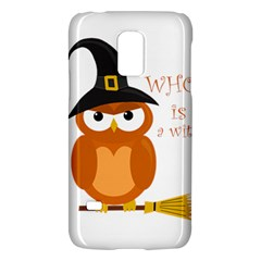 Halloween Orange Witch Owl Galaxy S5 Mini