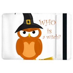 Halloween Orange Witch Owl Ipad Air 2 Flip
