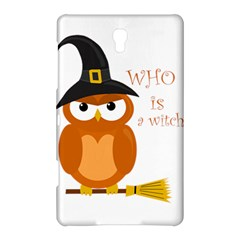 Halloween Orange Witch Owl Samsung Galaxy Tab S (8 4 ) Hardshell Case