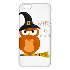 Halloween Orange Witch Owl Iphone 6 Plus/6s Plus Tpu Case