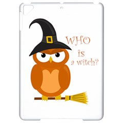 Halloween Orange Witch Owl Apple Ipad Pro 9 7   Hardshell Case
