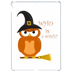 Halloween Orange Witch Owl Apple Ipad Pro 12 9   Hardshell Case