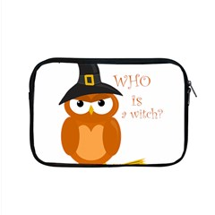 Halloween Orange Witch Owl Apple Macbook Pro 15  Zipper Case