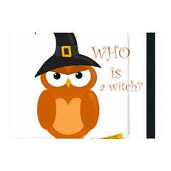Halloween Orange Witch Owl Apple Ipad Pro 10 5   Flip Case