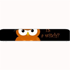 Halloween Orange Witch Owl Small Bar Mats