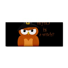 Halloween Orange Witch Owl Cosmetic Storage Cases