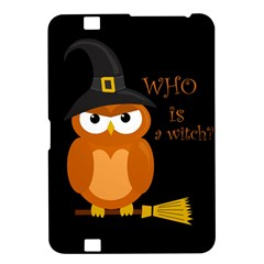 Halloween Orange Witch Owl Kindle Fire Hd 8 9