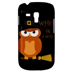 Halloween Orange Witch Owl Galaxy S3 Mini