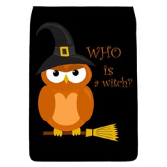 Halloween Orange Witch Owl Flap Covers (s)