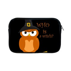 Halloween Orange Witch Owl Apple Ipad Mini Zipper Cases