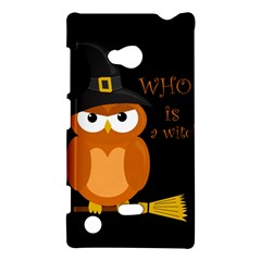 Halloween Orange Witch Owl Nokia Lumia 720