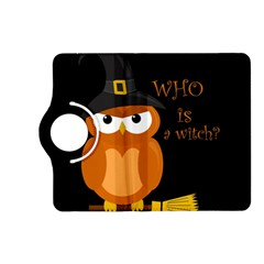 Halloween Orange Witch Owl Kindle Fire Hd (2013) Flip 360 Case