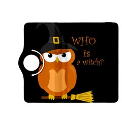 Halloween Orange Witch Owl Kindle Fire Hdx 8 9  Flip 360 Case