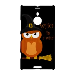 Halloween Orange Witch Owl Nokia Lumia 1520