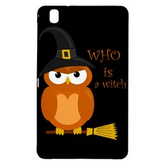 Halloween Orange Witch Owl Samsung Galaxy Tab Pro 8 4 Hardshell Case