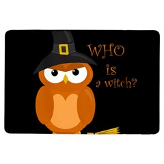 Halloween Orange Witch Owl Ipad Air Flip