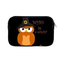 Halloween Orange Witch Owl Apple Macbook Pro 13  Zipper Case