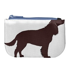 American Water Spaniel Silo Color Large Coin Purse