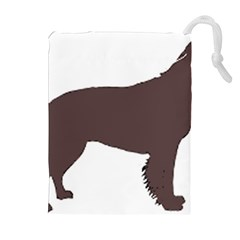 American Water Spaniel Silo Color Drawstring Pouches (extra Large)