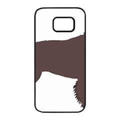 American Water Spaniel Silo Color Samsung Galaxy S7 Edge Black Seamless Case