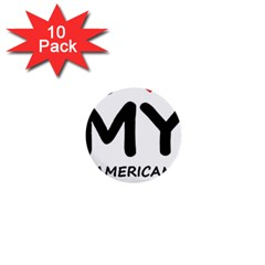 I Love My American Water Spaniel 1  Mini Buttons (10 Pack)