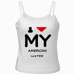 I Love My American Water Spaniel Ladies Camisoles