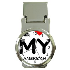I Love My American Water Spaniel Money Clip Watches