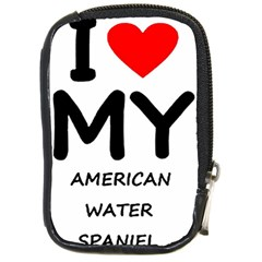 I Love My American Water Spaniel Compact Camera Cases