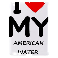 I Love My American Water Spaniel Apple Ipad 3/4 Hardshell Case (compatible With Smart Cover)