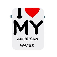 I Love My American Water Spaniel Apple Ipad 2/3/4 Protective Soft Cases