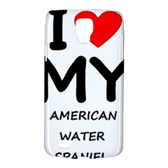 I Love My American Water Spaniel Galaxy S4 Active