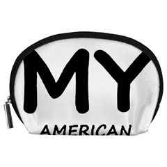 I Love My American Water Spaniel Accessory Pouches (large)