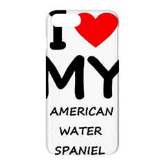 I Love My American Water Spaniel Apple Iphone 7 Plus Hardshell Case