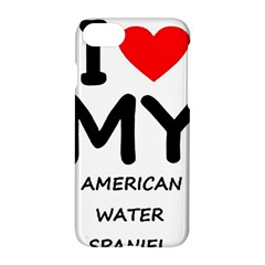 I Love My American Water Spaniel Apple Iphone 7 Hardshell Case