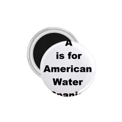 A Is For American Water Spaniel 1 75  Magnets