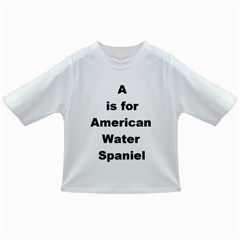 A Is For American Water Spaniel Infant/toddler T Shirts