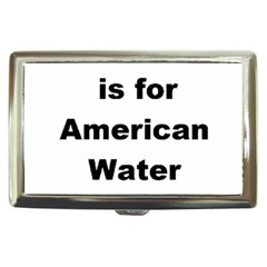 A Is For American Water Spaniel Cigarette Money Cases