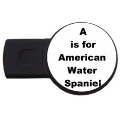 A Is For American Water Spaniel Usb Flash Drive Round (2 Gb)