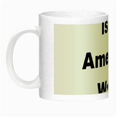 A Is For American Water Spaniel Night Luminous Mugs