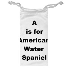 A Is For American Water Spaniel Jewelry Bag