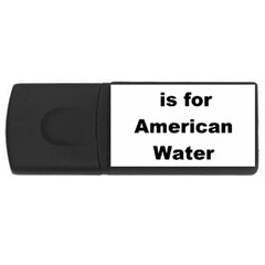 A Is For American Water Spaniel Rectangular Usb Flash Drive