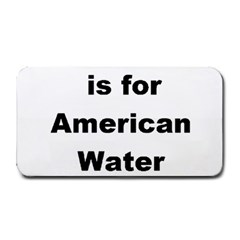 A Is For American Water Spaniel Medium Bar Mats