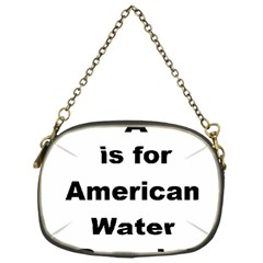 A Is For American Water Spaniel Chain Purses (one Side)
