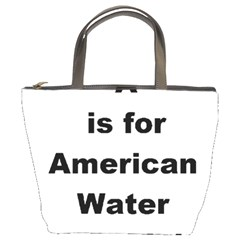 A Is For American Water Spaniel Bucket Bags